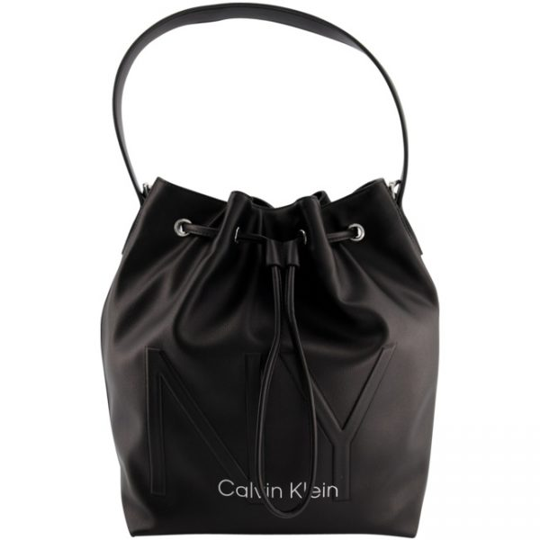 Calvin Klein NY Shaped Drawstring MD Schwarz